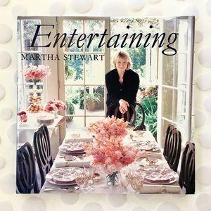 "BOOK, Martha Stewart ""Entertaining""  Recipes, etc."